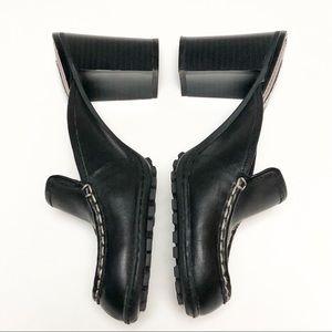 Tommy Hilfiger Tommy Girl Black Heel Mules Size 7